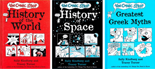 Sally Kindberg / Tracey Turner's Comic Strip books