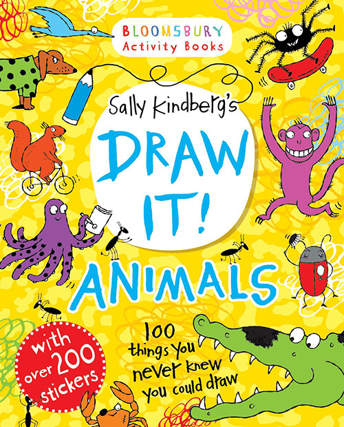 Sally Kindberg's Draw It! book
