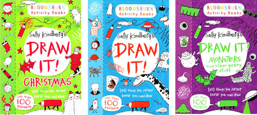 Sally Kindberg's Draw It! books