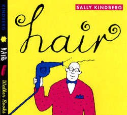 Book cover for Hair by Sally Kindberg