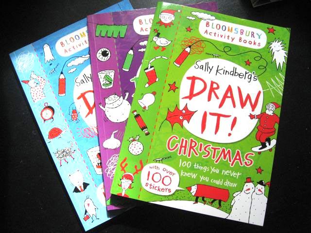 3 Draw It books