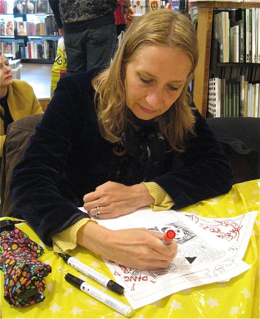 Rachelle at Amsterdam ABC
