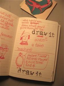 October notebook 1