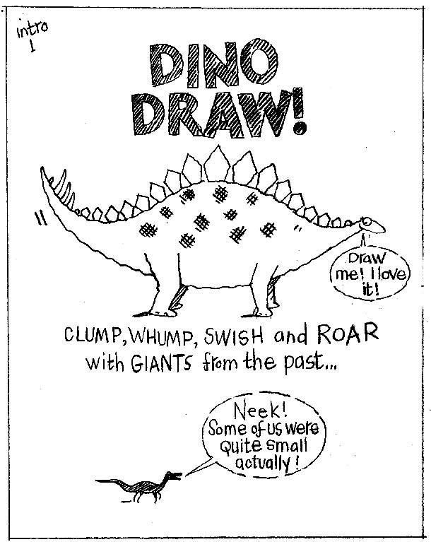 dino draw rough