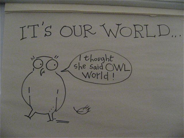 BD:JM:owl world