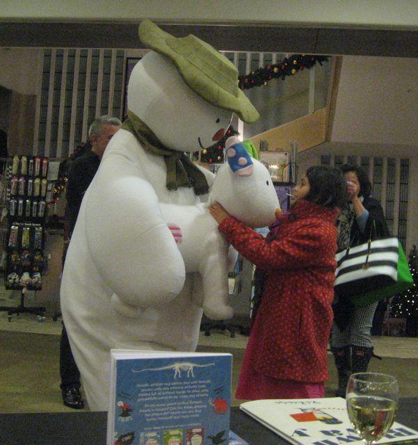 snowman at WP