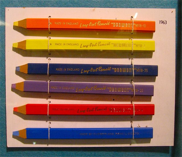 Derwent pencils 1963