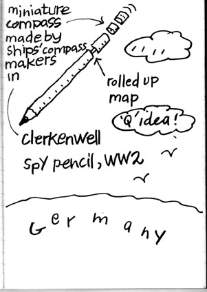 spy pencil