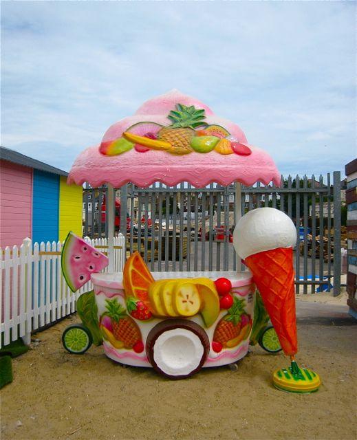 D ice cream stall