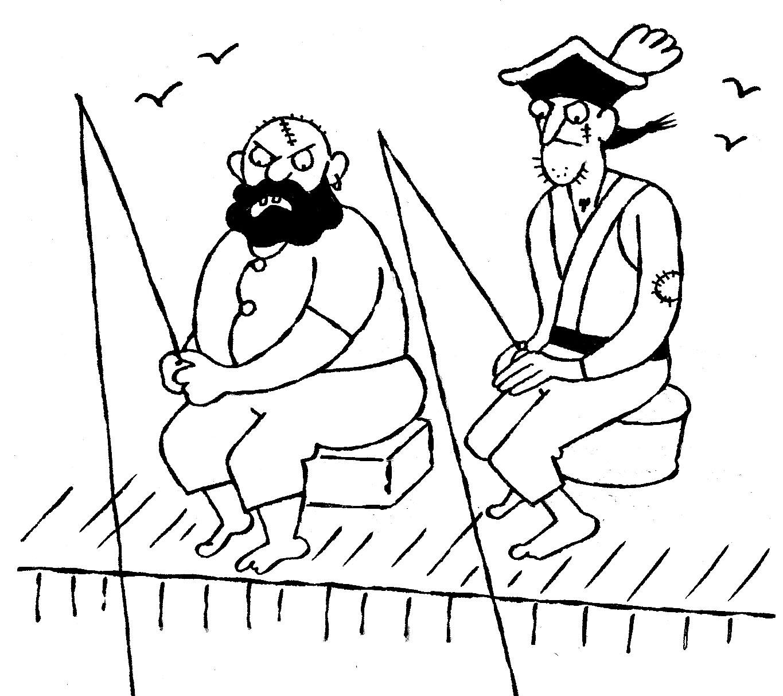 pirates fishing
