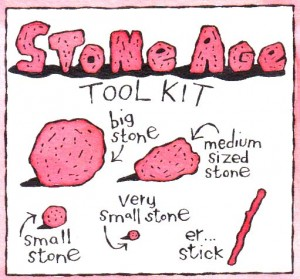 stone age tool kit