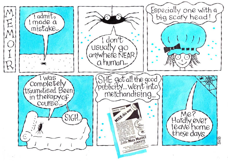 MEMOIR comic strip copy