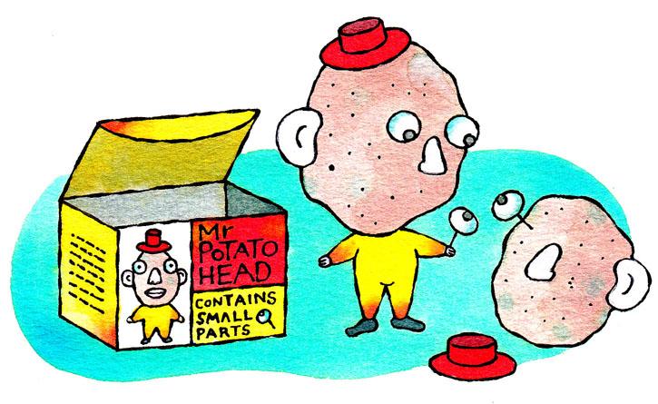 mr potato head copy